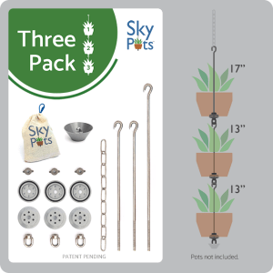 SKYPOTS THREE PACK POT HANGING KITS