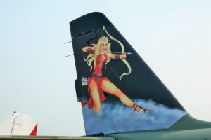 Sexy Airplane Tail Art, Aircraft Maintenance, General Aviation, Flying, Aircraft Pilot