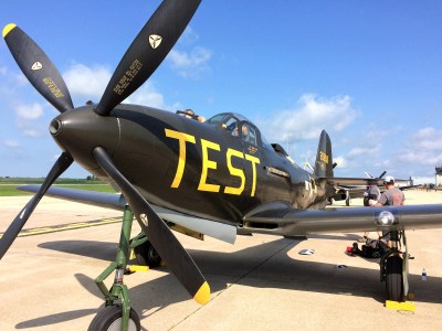 P-63 Kingcobra on Sky Review Aviation