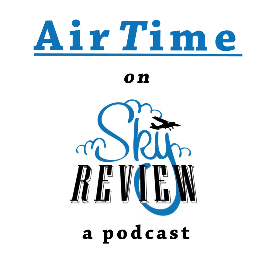 AirTime - a Sky Review Podcast Vertical Graphic