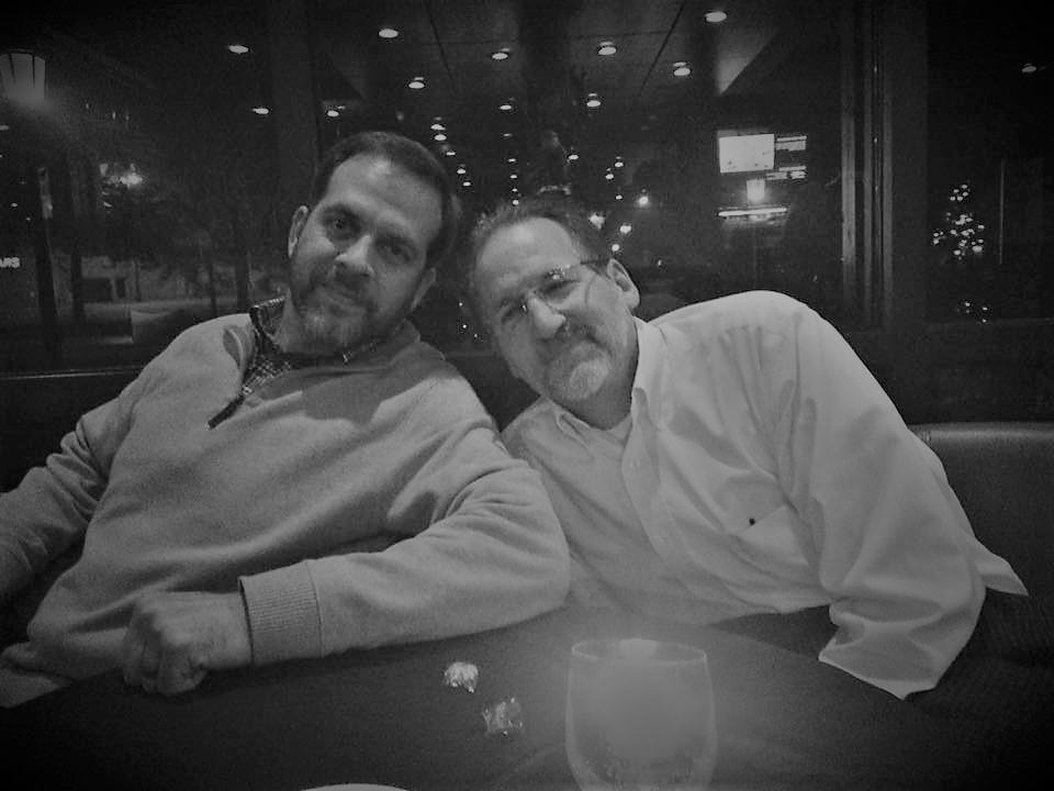 Kenny Smith and Don Jones