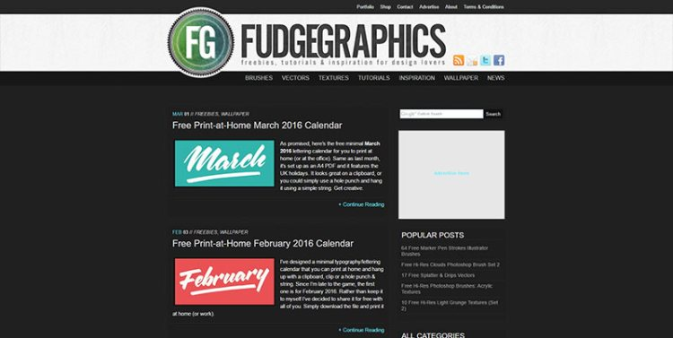 vector resources from fudgegraphics