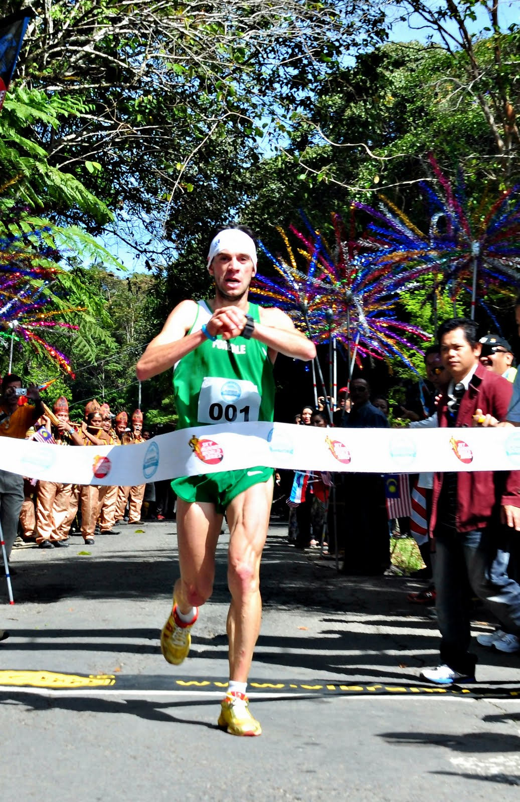 Marco de Gasperi - držitel rekordu tratě