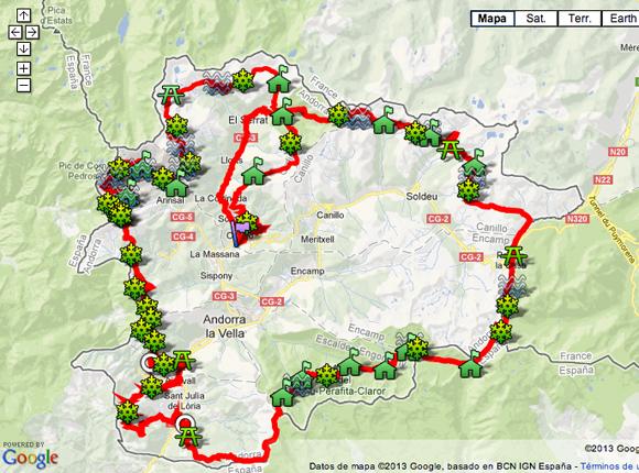 Andorra mapa
