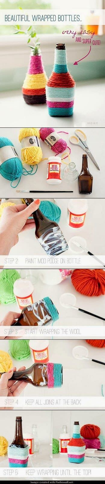 Wrapped Bottle ideas
