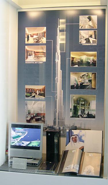 Case view of Burj Dubai Marketing