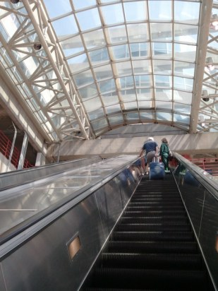 Union Station Escalators