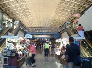 Lower level shops