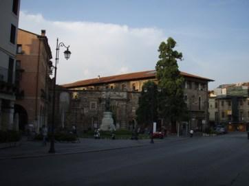 Vicenza approaching Teatro Olimpico
