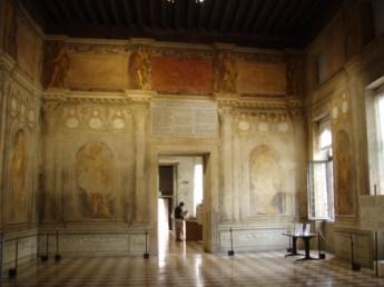 Upstairs room Teatro Olimpico