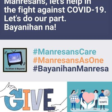 My batchmates in Manresa came up with bayanihan efforts.