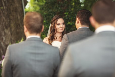 Photo Taken by Skys the Limit Production of a Ceremony at the Bernhardt Winery in Plantersville Texas