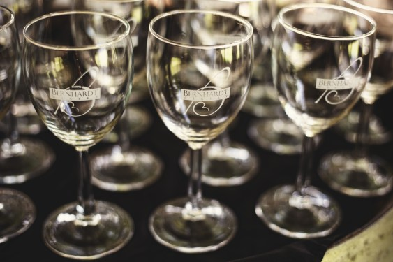 Bernhardt Winery wine glasses