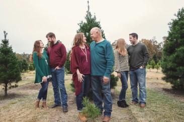 Christmas Mini Photos taken by Skys the Limit Production at the Bozeman's Christmas Tree Farm in Lumberton, Texas