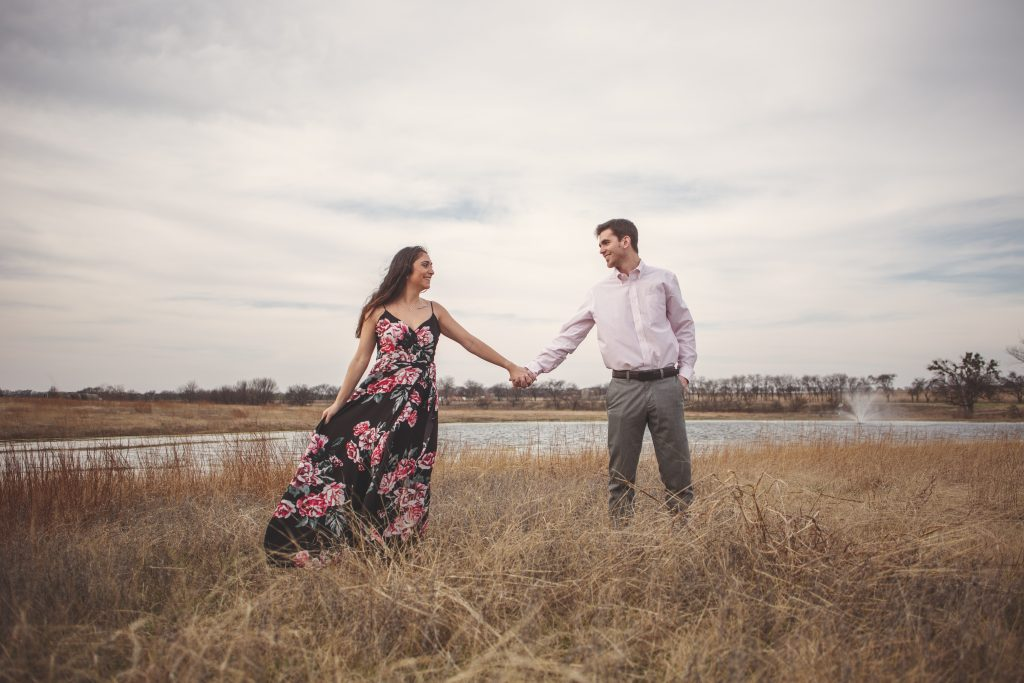 Engagement session at Hawthorn Hills Ranch