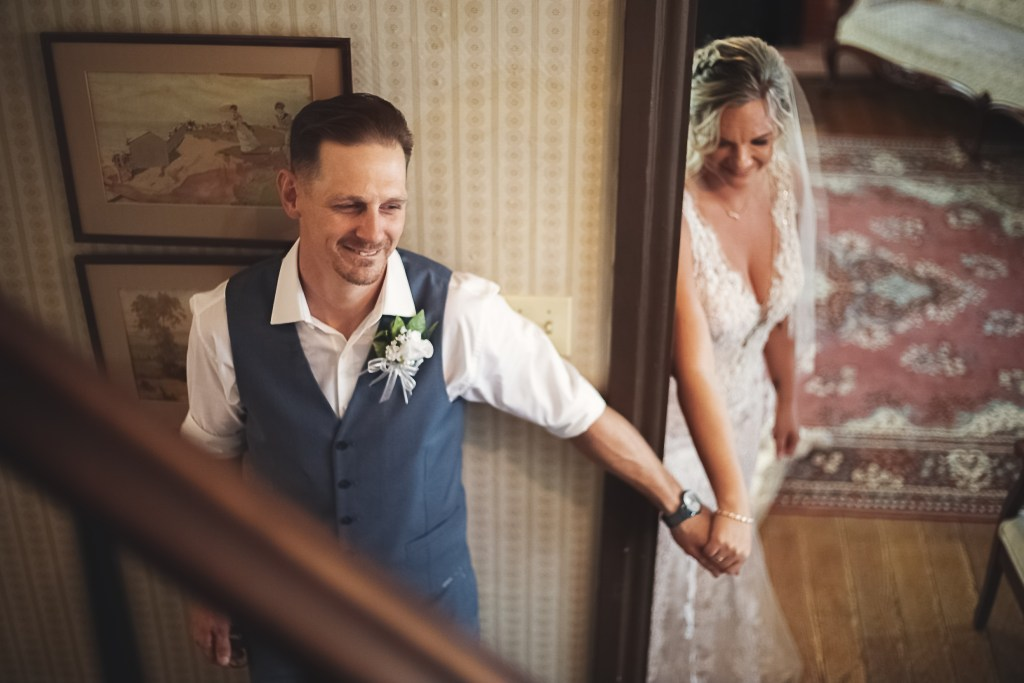 First Touch | Bride and Groom | Skys the Limit | Mckinney Wedding Photographer
