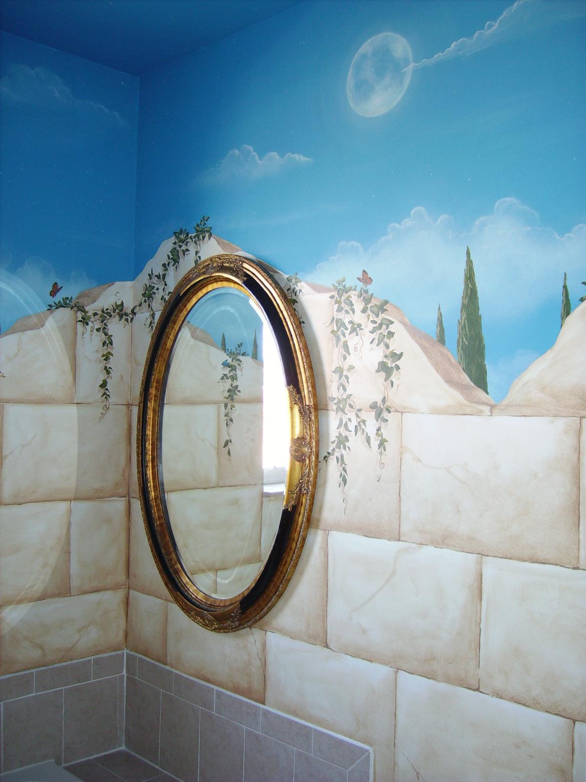 Trompe L Oeil Murals Art By Beata San Diego Muralist