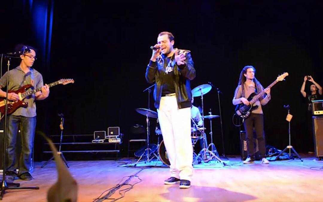 2013/12/06 Concert EL ANJO à Angerville (91) – Sound system & acoustique groupe – Salle Polyvalente