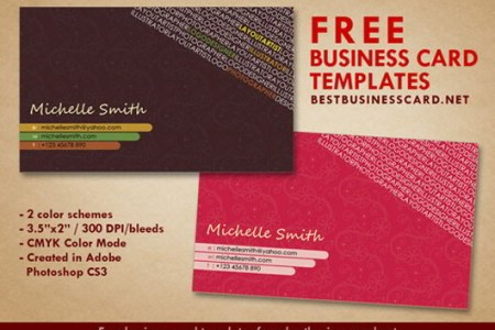 30 Elegantly Designed Free Business Card Templates   SkyTechGeek Artist Business Card Templates
