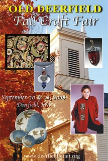 Old Deerfield Craft Fair September 20-21