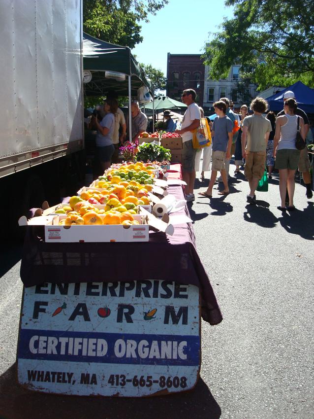 Northampton Top Ten #9: The Farmer's Market