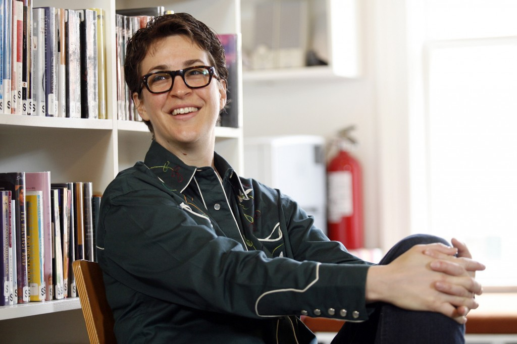 Northampton Top Ten: #6 Rachel Maddow