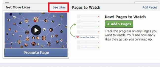 facebook see likes