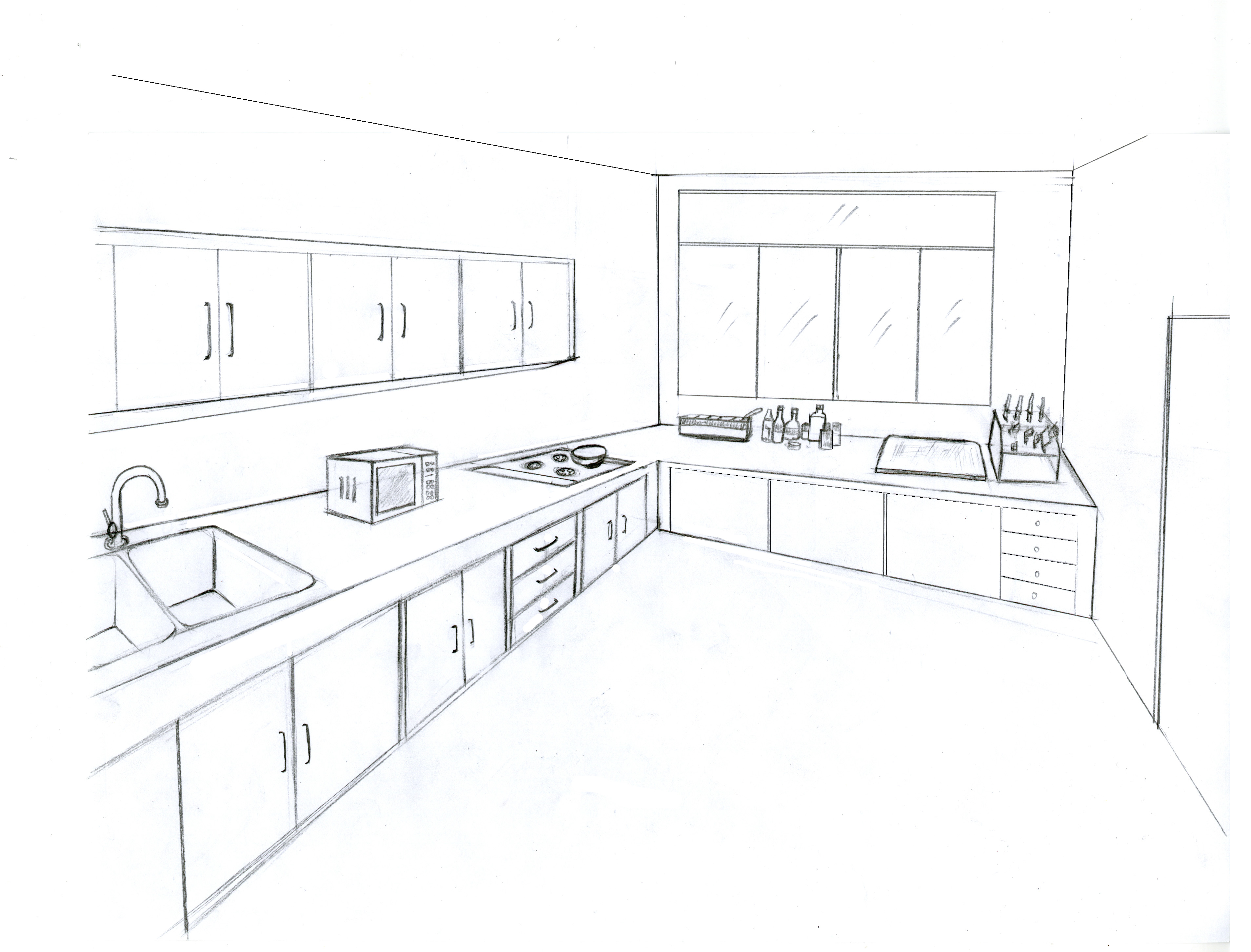 House Memory Drawing