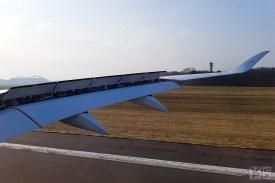 Landung in HAM