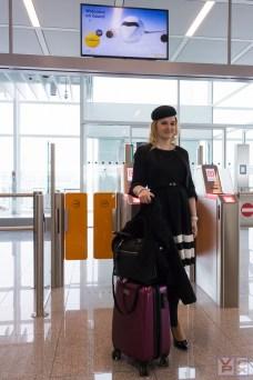 Manch ein Fluggast gab sich besondere Mühe mit dem Outfit!