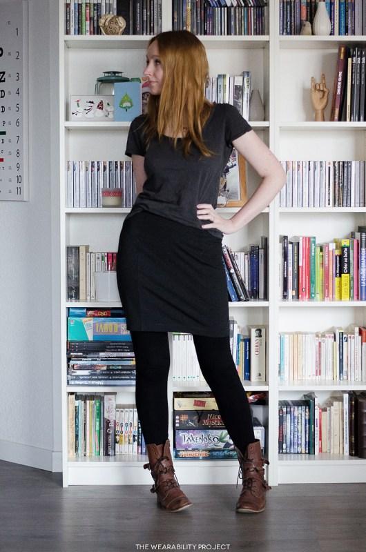 dark grey brume skirt