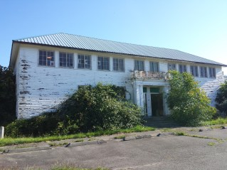 Building when we started the restoration