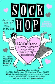 Feb 13th Sock Hop Dance