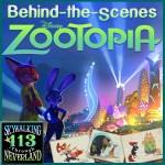 Zootopia behind the scenes
