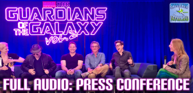 Guardians of the Galaxy vol 2 press conference