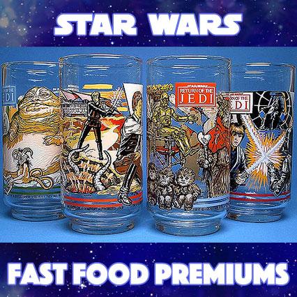 Star Wars Fast Food Premiums