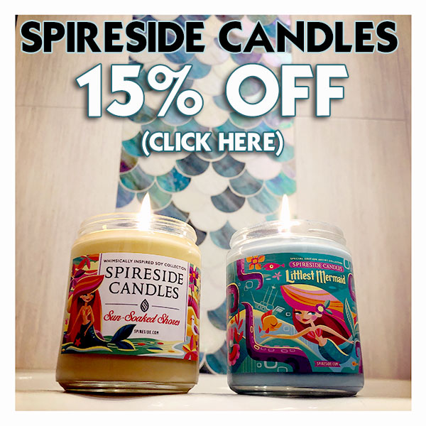 Spireside Candles 15% off