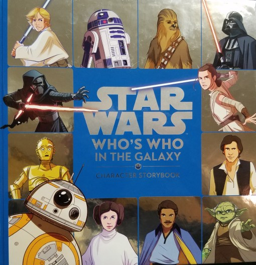 Star Wars Who's Who in the Galaxy Book cover