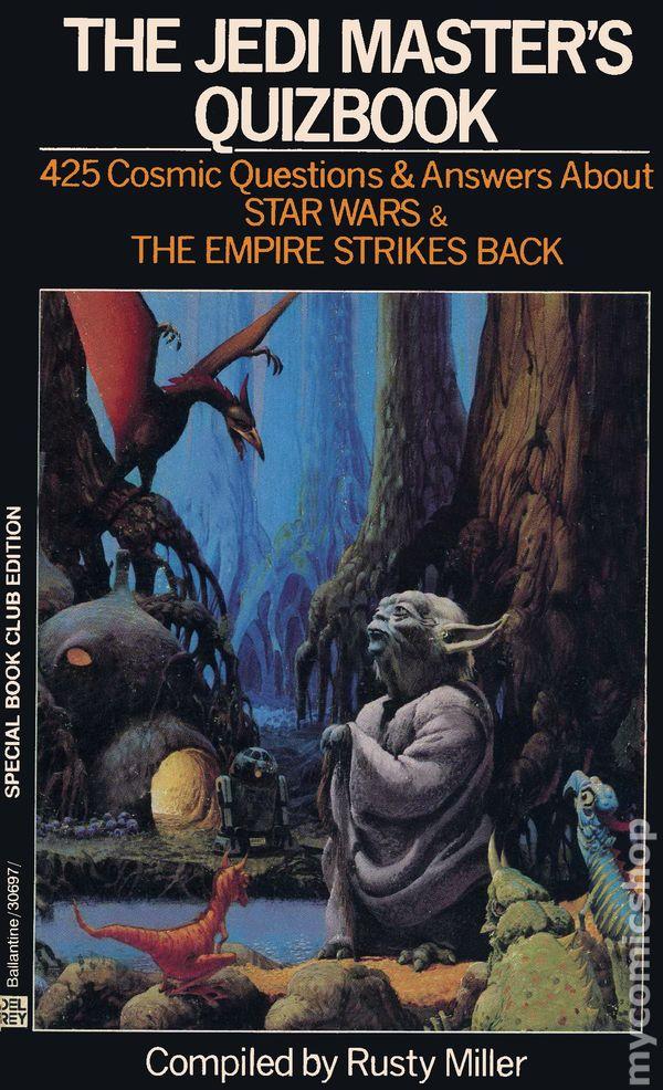 Jedi Master's Quizbook cover