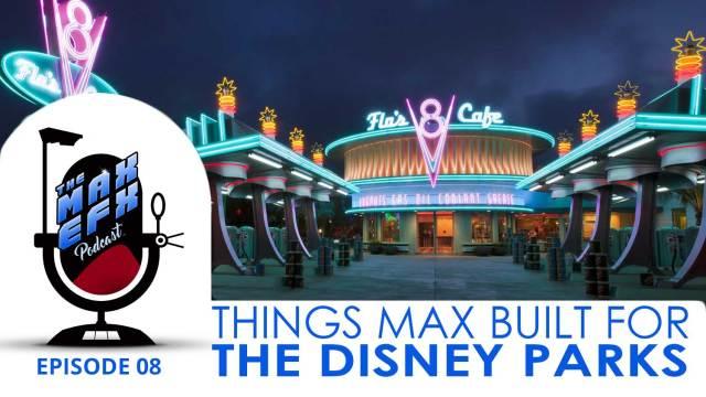 Disney Parks Props that Max built