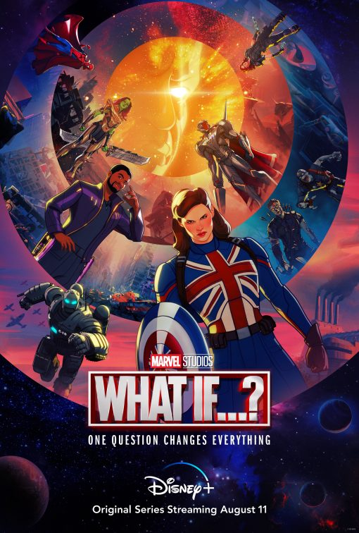 Marvel What If...? poster with Captain Carter