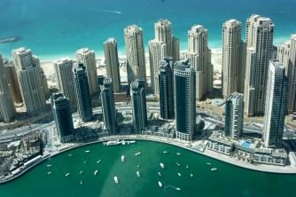 Dubai - vista dal Burj Khalifa