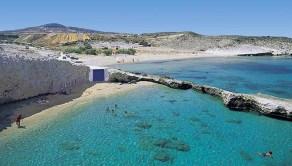 Milos - spiaggia di Alogomadra