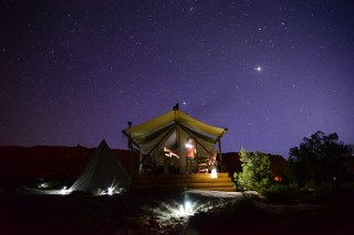 Moab Under Canvas @ Arches N. P.