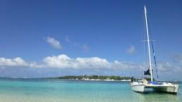 Mauritius in catamarano