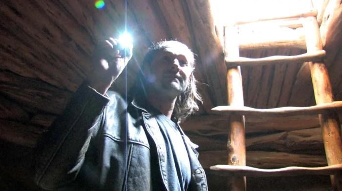 Carl Olafsen following Tom Horn into one of the underworld gateway locations