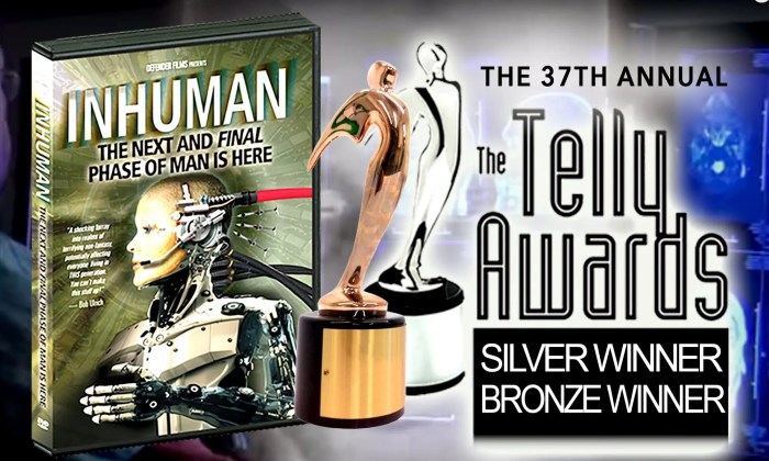INHUMAN Telly Award Silver and Bronze