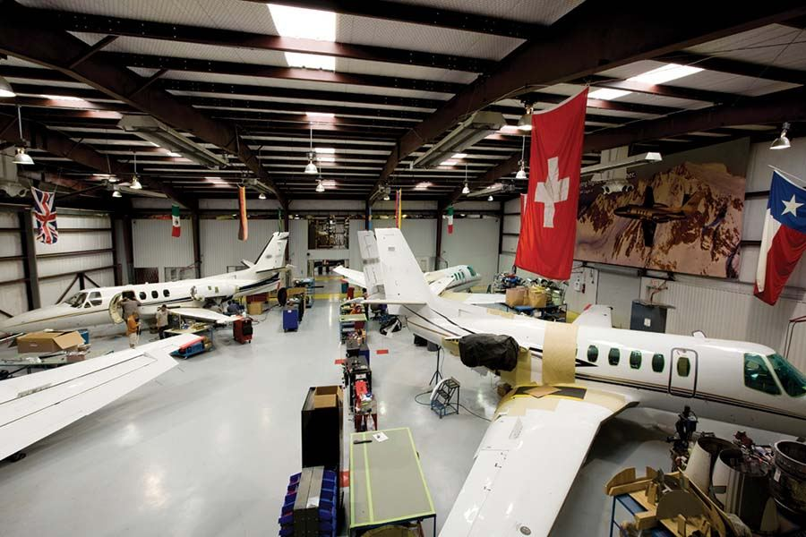 SkyWay MRO, Cessna Citation, Jet Maintenance, Uvalde Texas