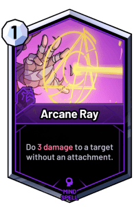 skyweaver arcane ray card