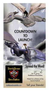 BBB Count down to launch